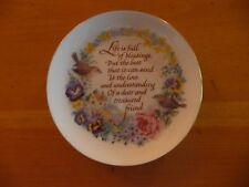 Heirloom Editions by Paula Collector Plate Life Is Full Of Blessings