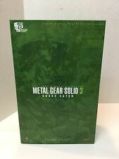 Hot Toys Metal Gear Solid 3 Naked Snake Eater Sneaking Suit Ver MIB Action Fig
