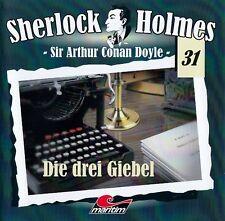 DOYLE - SHERLOCK HOLMES (31) - DIE DREI GIEBEL / CD (HÖRSPIEL) - TOP-ZUSTAND
