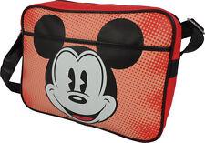 Mickey Mouse Design retrò Vinile Borsa A Tracolla/Cartella & Ufficiale Disney