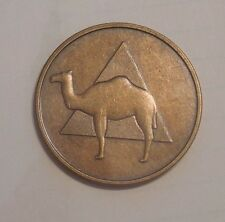 AA COIN BRONZE ALCOHOLICS ANONYMOUS SOBRIETY CAMEL CHIP TOKEN MEDALLION NEW