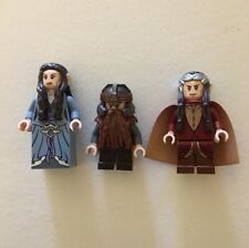 Lego Lord of the Rings Minifigures Lot Elrond Arwen Gimli 79006 Hobbit