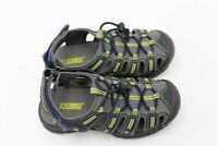 KHOMBU Kids Youth Dillon Sandals Water Shoes Outdoors Hiking Gray Green Size 13