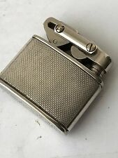 Vintage Baby KW Elisorn Autotank Petrol Lighter Sterling Silver Sleeve
