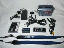 Sony PAL CCD-TRV428E PAL HI8 8mm Video8 Camcorder VCR Player Video Transfer