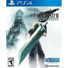 Final Fantasy Vii Remake PlayStation 4 Ps4 Brand New Sealed