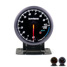 2.5'' 60MM Car Auto Tachometer 0-10000 RPM Gauge Meter With Red & Amber Lighting