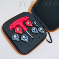 7X F9 Weights + Wrench tool case for Cobra F9 Driver Weight Screw 4G-14G