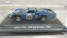 RENAULT ALPINE A 220 1000 KM PARIS 1968 ELIGOR 1/43 Neuf