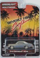 1:64 GreenLight 1970 Chevrolet Nova Hollywood 27 Beverly Hills Cop