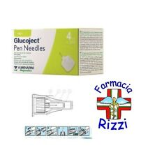 GLUCOJECT PEN NEEDLES AGHI PER PENNE INSULINA 4 MM 32G 100 AGHI MENARINI