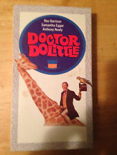 Doctor Dolittle (VHS, 1997) Rex Harrison Samantha Eggar Anthony Newley
