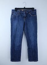 KUT from the KLOTH Bardot Skinny Boyfriend Cropped Jean Capri Medium Wash Sz 6
