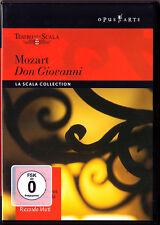 DVD MOZART DON GIOVANNI Thomas Allen Edita Gruberova Francisco Araiza MUTI Scala