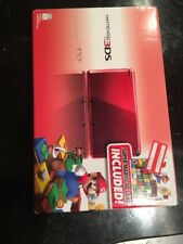 Nintendo 3DS with Super Mario 3D Land - Flame Red New Factory Sealed Wear