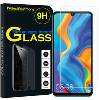 Tempered Glass Curved Huawei P30 pro Full Cover Screen Protection Protec