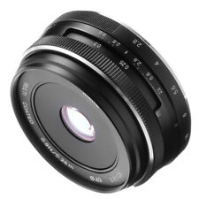 Meike 28mm f2.8 Large Aperture MF Manual Focus Lens For Canon EOS M M3 M5 M6 M10