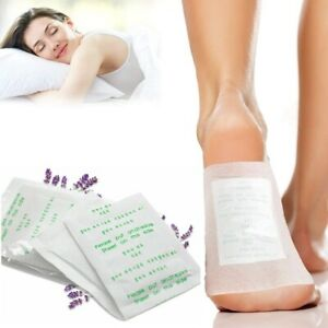 3 Pair Detox Foot Patches Pads Body Toxins Feet Slimming Cleansing Herbal