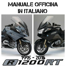 MANUALE OFFICINA IN ITALIANO BMW R 850 1100 1150 1200 RT 1995 - 2016 VIA EMAIL