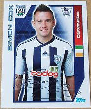 TOPPS - PREMIER LEAGUE 2012 - STICKER COLLECTION - No 418 - SIMON COX