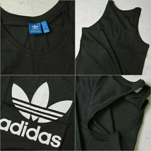 Men's Adidas Originals Vest Tank Sleeveless T-Shirt Muscle Top Singlet -4 colurs