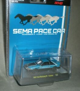 1/64th M2 Machines 2020 SEMA 1987 SEMA Pace Car Mustang GT Custom