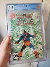 Tales of the Teen Titans #55 Cgc 9.8 Changeling (Beast Boy vs Deathstroke)