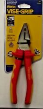 """Irwin 13980 7"""" Insulated Combination Plier With Wire Cutter 1000v"""