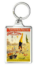 THE GREAT CONEY ISLAND WATER CARNIVAL MOD2 VINTAGE KEYRING LLAVERO