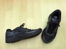 Brooks adrenaline 15 gts black quality running shoes size 8 uk 42 Eu