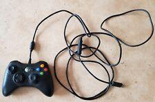 Manette Microsoft Xbox 360 USB / PC filaire. Officielle.