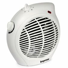 1500-Watt Compact Fan Heater Combo with Adjustable Thermostat New