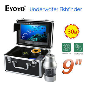 "EYOYO 9"" 30M 360° Fishfinder With Remote Controller Underwater Fishing Camera"