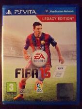 FIFA 15 2015 PS Vita Nuevo Fútbol Football Soccer Messi castellano In english¨