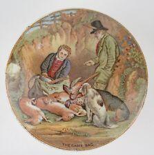 Pot lid. 'The Game Bag' No. 260