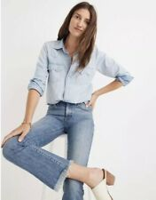 Madewell 25P Petite Cali Demi-Boot Jeans in Comfort Stretch Eco Edition 2018