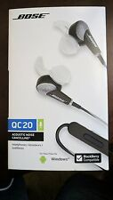 Bose QuietComfort 20 QC20  Noise Cancelling Headphones, Samsung and Android