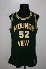 Vintage 80s Champion Minnesota Mounds View Mustangs Basketball Jersey 46