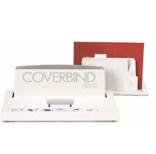 Coverbind 5000 Thermal Cover Binding Machine Includes Cooling Rack New In Box