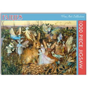 Jigsaw Puzzle, Fairies Fine Art 1000 piece, Gifted Stationery