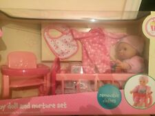 ELC Cupcake doll Early Learning Centre Baby Doll and Nurture Set RRP £ 40