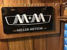 Miller Meteor  License  Plate For Your Hearse Or Daily Driver