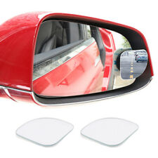 1 Pair Adjustable Car Mirror Blind Spot Side Rear View Convex Wide Angle Parking
