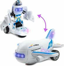 Toysery Airliner Deformation Robot Classic Design for For Kids Best Holiday Toys