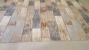 Teppichboden 15,99€/m² Design Holz Planken Auslegware 400 cm