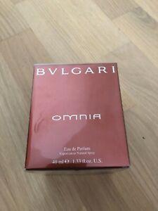 Bvlgari Bulgari OMNIA Eau de Parfum  (EDP) – 40ml  - NEU in Originalverpackung