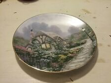 Thomas Kinkade Chandler's Cottage Plate