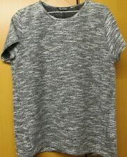 Miss Selfridge Ladies short sleeve knitted top, Size 14 - New, RRP £25