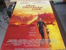 What Dreams May Come 1998 27x41 Original Movie Poster