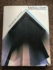 Architecture From Prehistory to Post-Modernism by Hyman and Trachtenberg, 1986